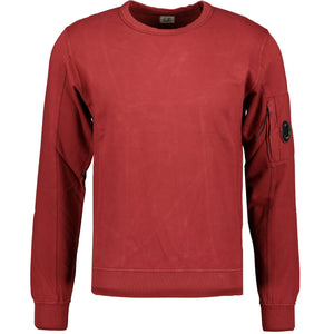 CP Company Arm Lens Sweatshirt Red - chancefashionco