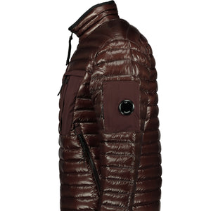 CP Company D.D. Puffer Jacket Chocolate - chancefashionco