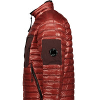 CP Company D.D. Puffer Jacket Red - chancefashionco