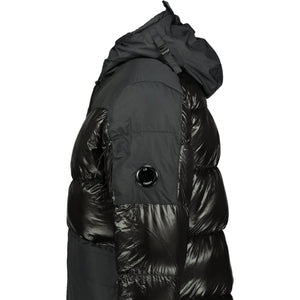 CP Company D.D. Shell Down Jacket Black - chancefashionco