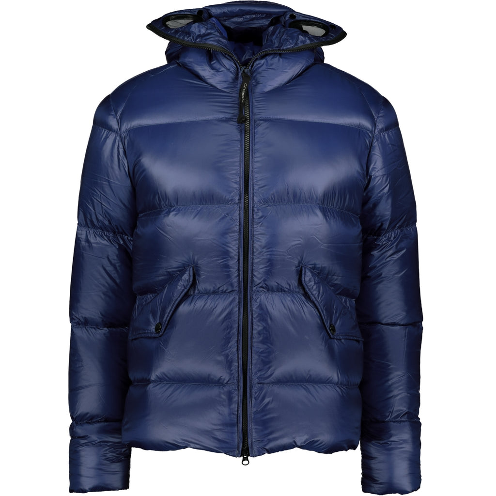 CP Company D.D. Shell Goggle Jacket Blue - chancefashionco
