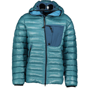 CP Company D.D. Shell Goggle Jacket Light Blue - chancefashionco
