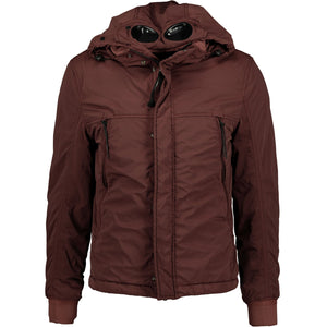CP Company Goggle Lens Nycra Jacket Burgundy - chancefashionco