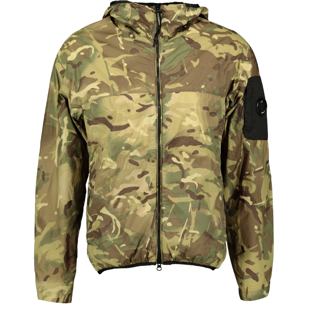 CP Company Hooded Lens Re-Print Camouflage Jacket - chancefashionco