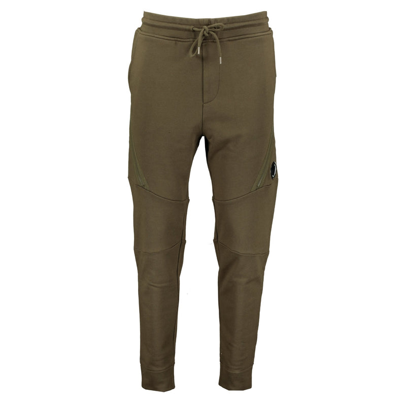 CP Company Lens Zip Pocket Sweat Pants Khaki - chancefashionco