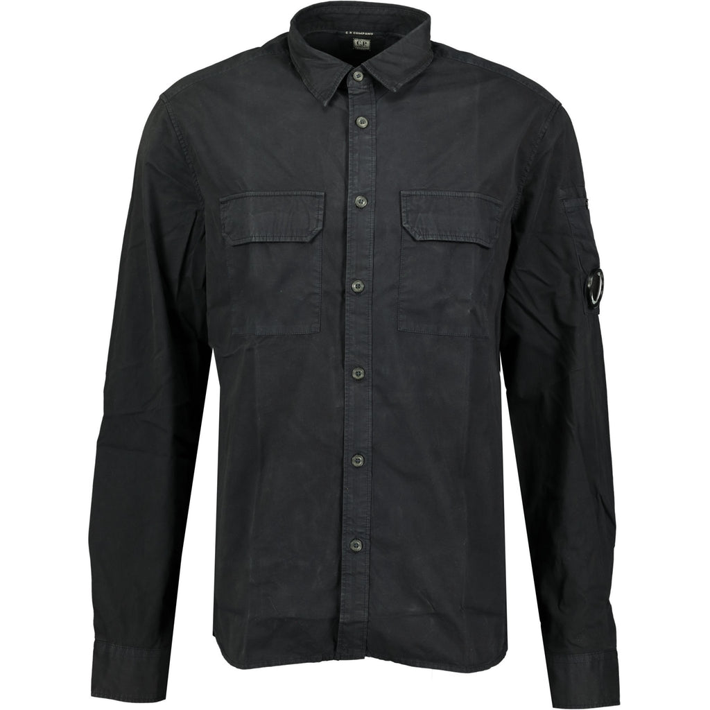 CP Company Navy Watch-Viewer Overshirt - chancefashionco