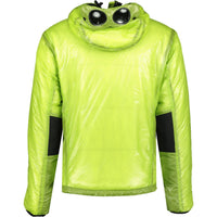 CP Company Padded Goggle Jacket Lime Green - chancefashionco