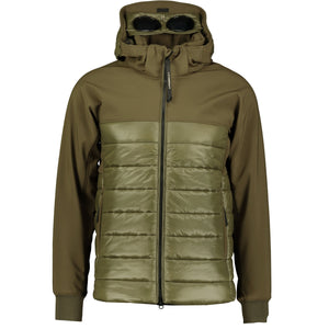 You added <b><u>CP Company Padded Hood Goggle Jacket Khaki</u></b> to your cart.