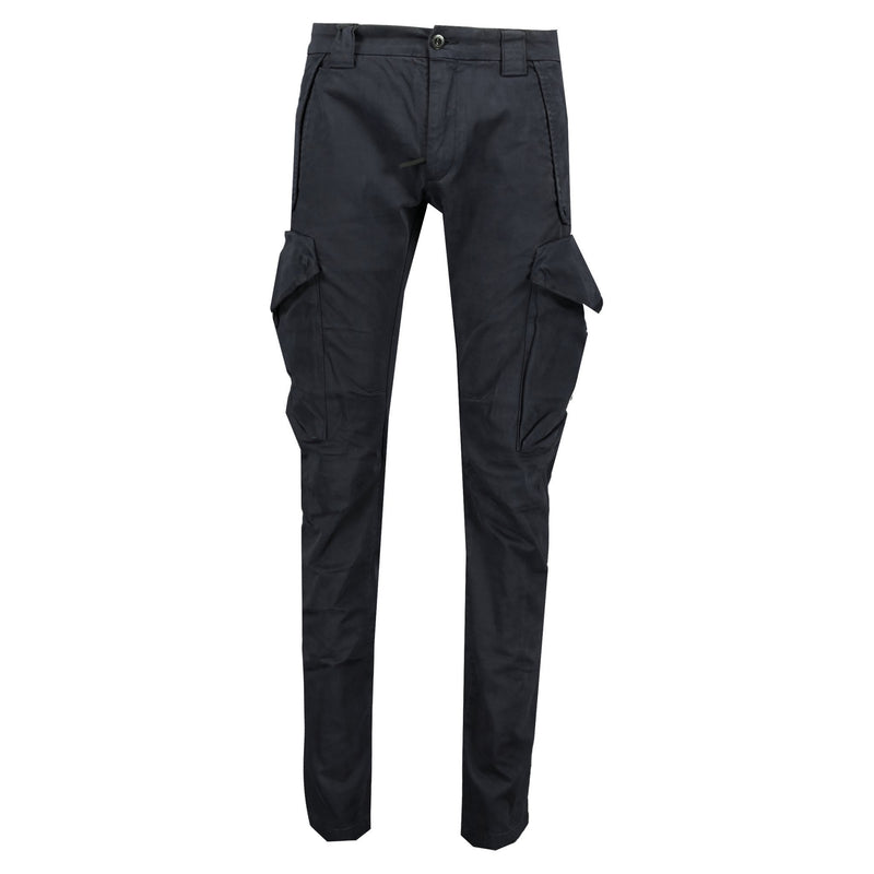 CP Company Slim Fit Stretch Cotton Cargo Trousers Navy - chancefashionco