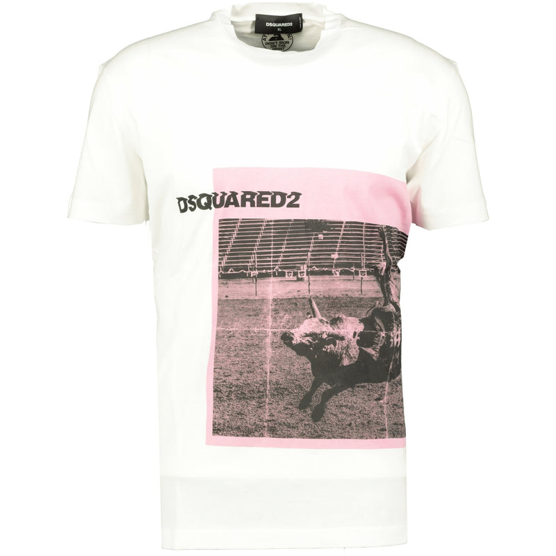 DSquared2 Bull Print T-Shirt - chancefashionco