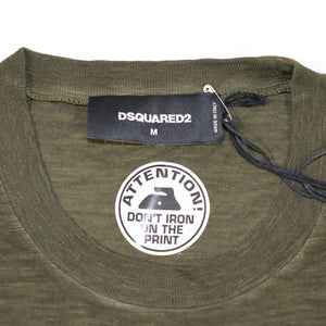 DSquared2 Caten T-Shirt Khaki - chancefashionco
