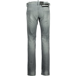 Dsquared2 Cool Guy Grey Paint Splatter Jeans - chancefashionco
