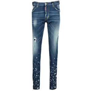 You added <b><u>Dsquared2 Cool Guy White Paint Distressed Slim Fit Jeans</u></b> to your cart.
