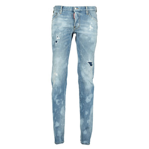 DSquared2 Distressed Slim Fit Jeans - chancefashionco