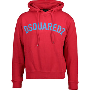DSquared2 Hooded Sweatshirt Red - chancefashionco