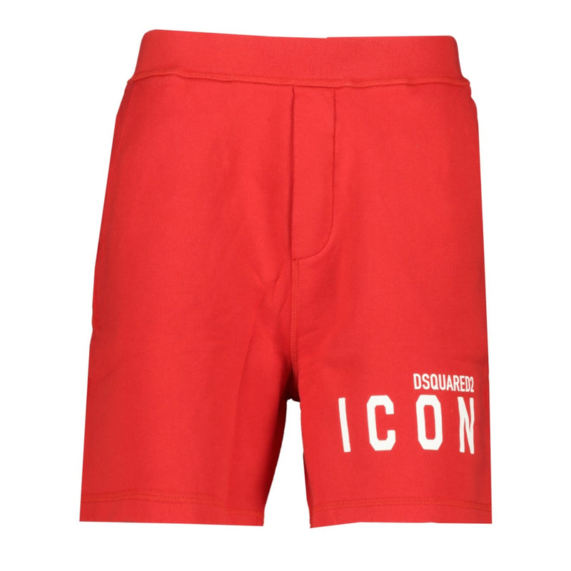 DSquared2 ICON Shorts Red - chancefashionco