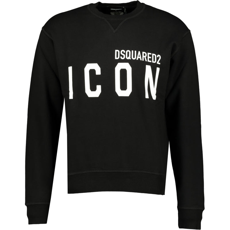 DSquared2 ICON Sweatshirt Black - chancefashionco