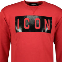 DSquared2 ICON Sweatshirt Red - chancefashionco