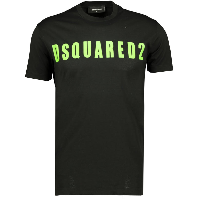 Dsquared2 Logo T-Shirt Black - chancefashionco