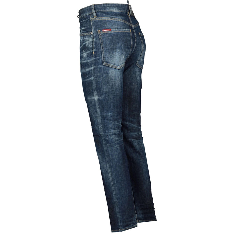 DSquared2 Sexy Mercury Paint Slim Fit Jeans - chancefashionco