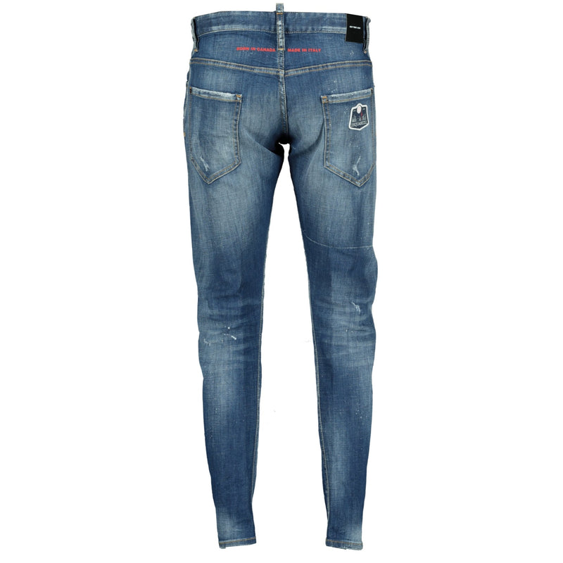 DSquared2 Sexy Twist Distressed Slim Fit Jeans - chancefashionco