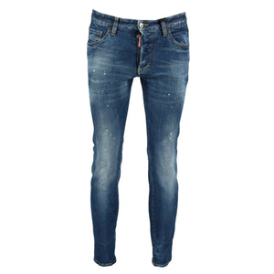 You added <b><u>Dsquared2 'Skinny Dan' Distressed Paint Splatter Jeans</u></b> to your cart.