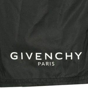 Givenchy Logo Swim Shorts Long Black - chancefashionco
