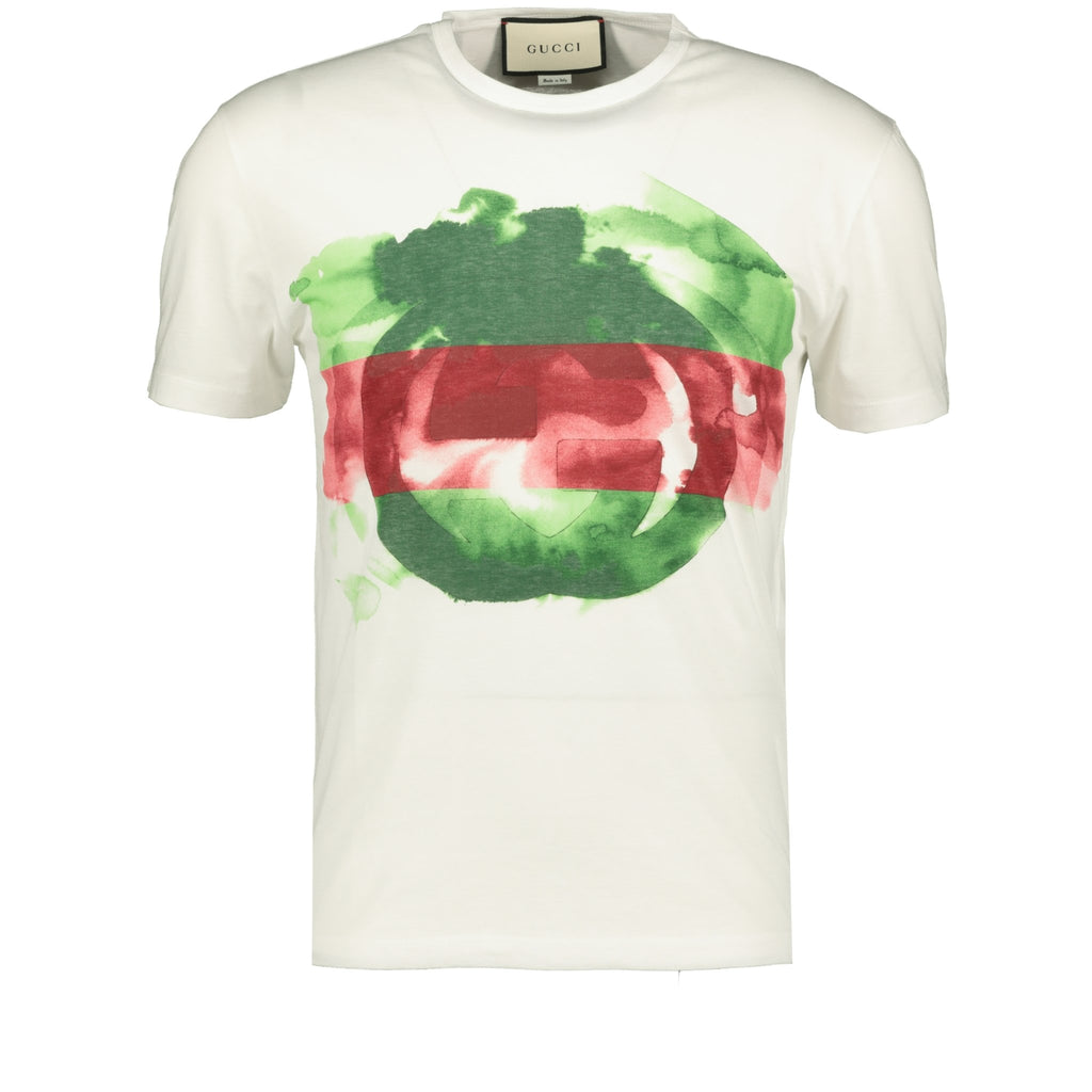 Gucci Print 'GG' Logo T-Shirt White - chancefashionco