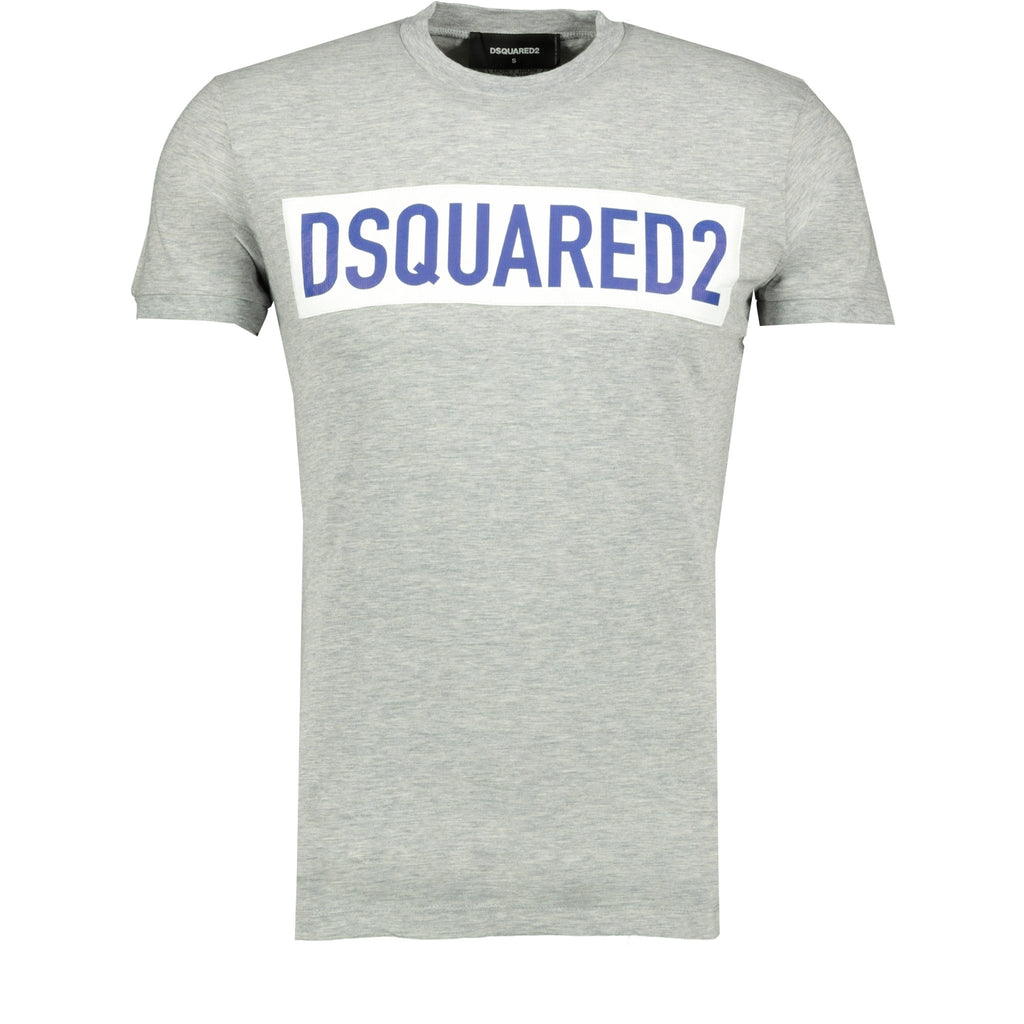 Dsquared2 Logo T-Shirt Grey - chancefashionco