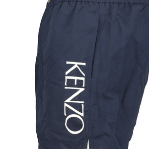 Kenzo Logo Swimming Shorts Navy - chancefashionco