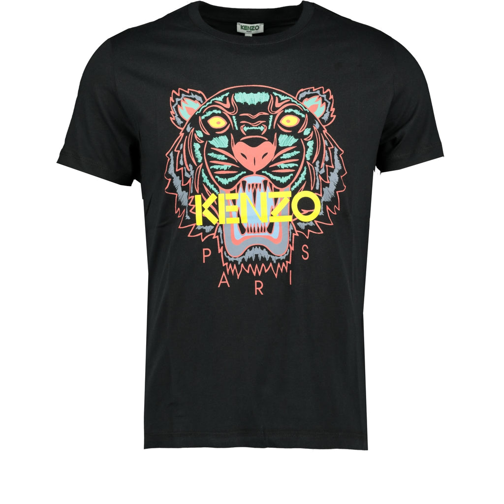 Kenzo Tiger T-Shirt Black - chancefashionco