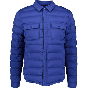 Moncler Zumstein Padded Jacket Blue - chancefashionco