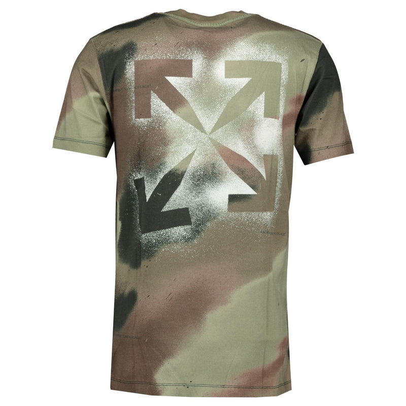 Off-White Camo Arrow T-Shirt - chancefashionco