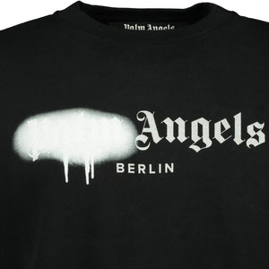 Palm Angels Berlin Spray Paint Sweatshirt - chancefashionco