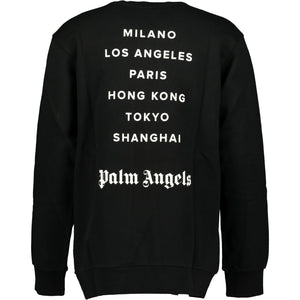 Palm Angels Milano Spray Paint Sweatshirt - chancefashionco