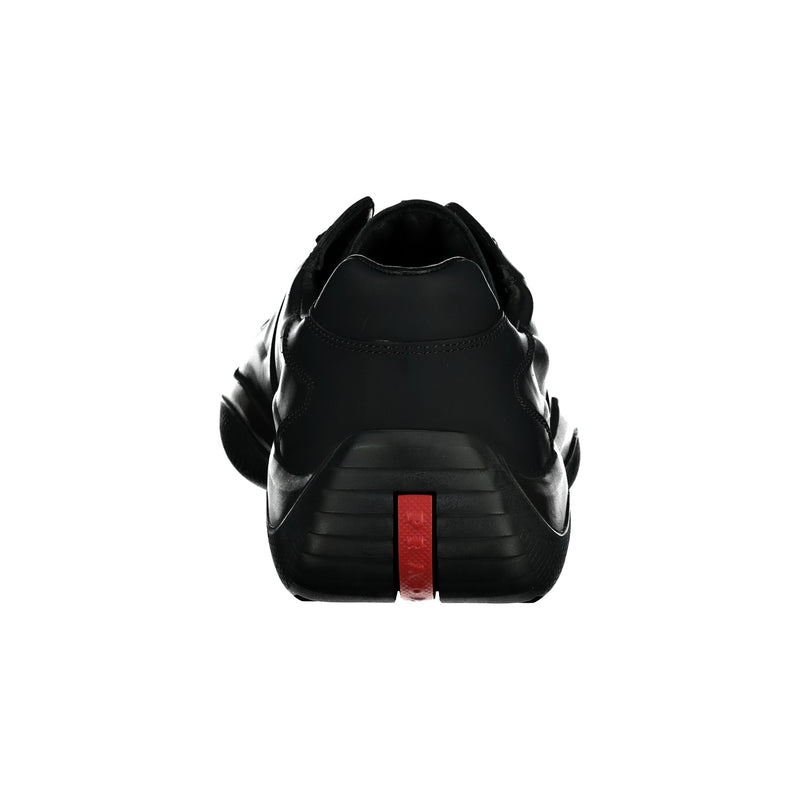 Prada Americas Cup Black Trainers - chancefashionco