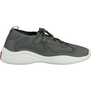 You added <b><u>Prada Americas Cup Sock Knit Grey Trainers</u></b> to your cart.