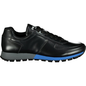 You added <b><u>Prada Black With Blue Trim Leather Runners</u></b> to your cart.