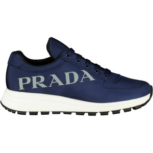 Prada Blue Logo Nylon Runners - chancefashionco