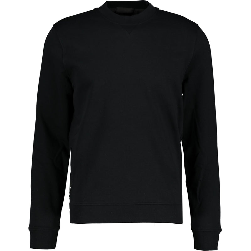 Prada Cotton Logo Black Sweatshirt - chancefashionco