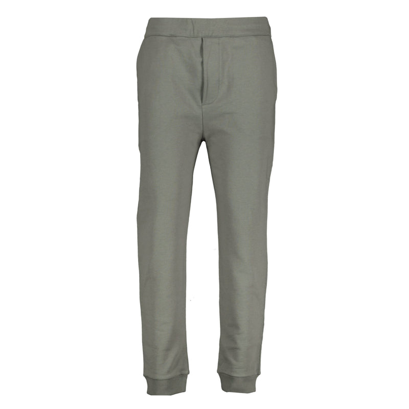Prada Cotton Logo Grey Sweat Pants - chancefashionco