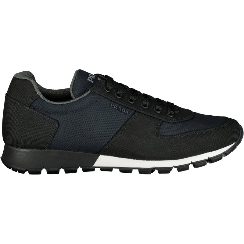 Prada Navy And Black Runners - chancefashionco