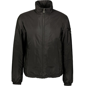Prada Nylon Down Jacket Black - chancefashionco