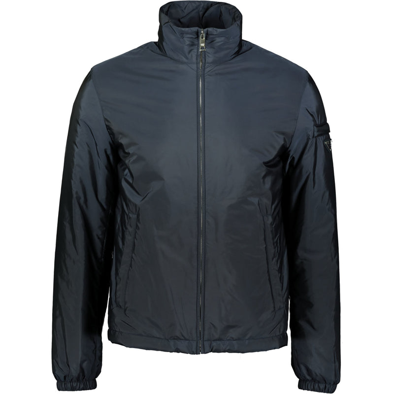 Prada Nylon Down Jacket Navy - chancefashionco