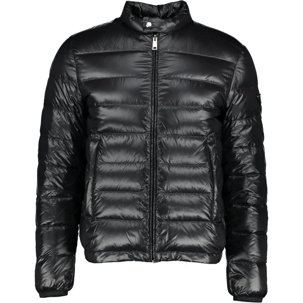 Prada Nylon Padded Jacket Black - chancefashionco