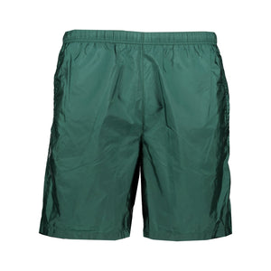 Prada Swim Shorts Green Nylon Long - chancefashionco