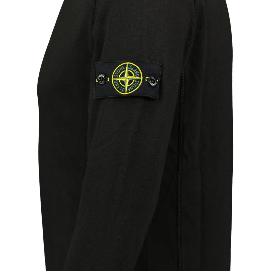 Stone Island Black Sweatshirt - chancefashionco