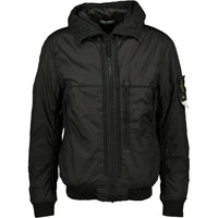 Stone Island Garment Dyed Crinkle NY Padded Jacket Black - chancefashionco