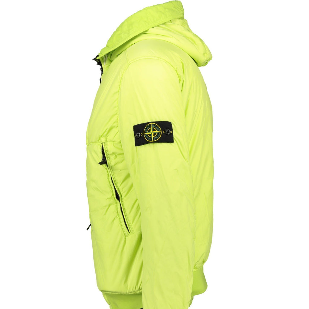 Stone Island Garment Dyed Crinkle NY Padded Jacket Green - chancefashionco