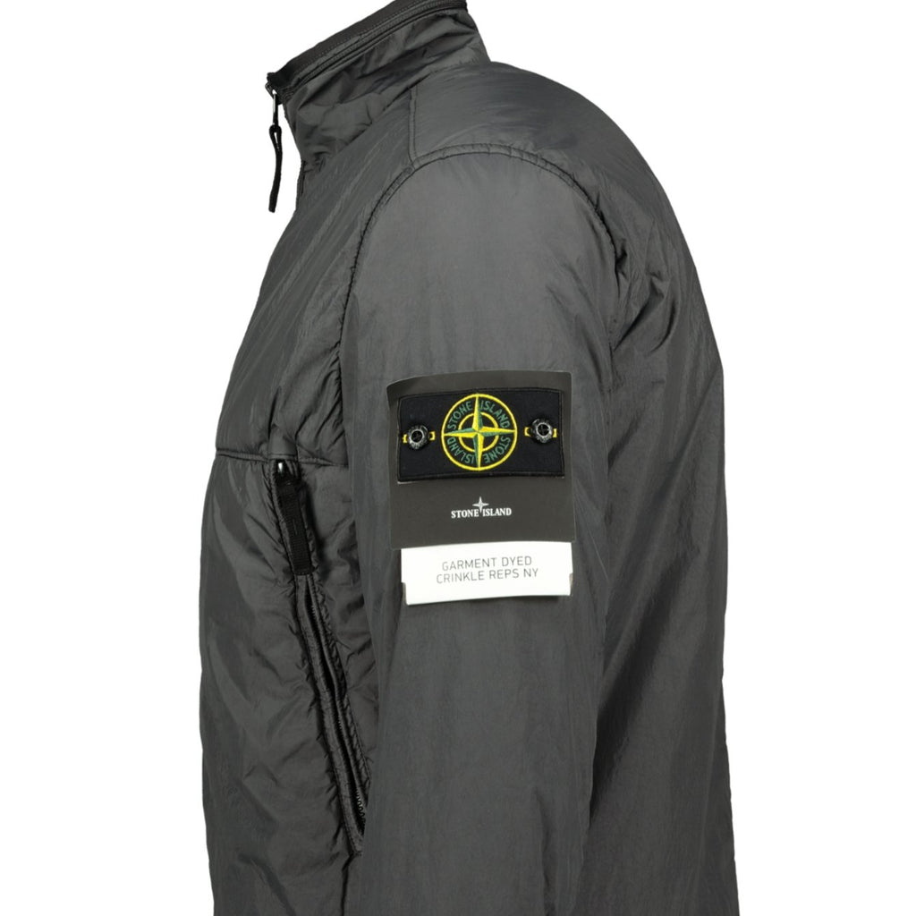 Stone Island Garment Dyed Crinkle Reps Down Jacket Grey - chancefashionco